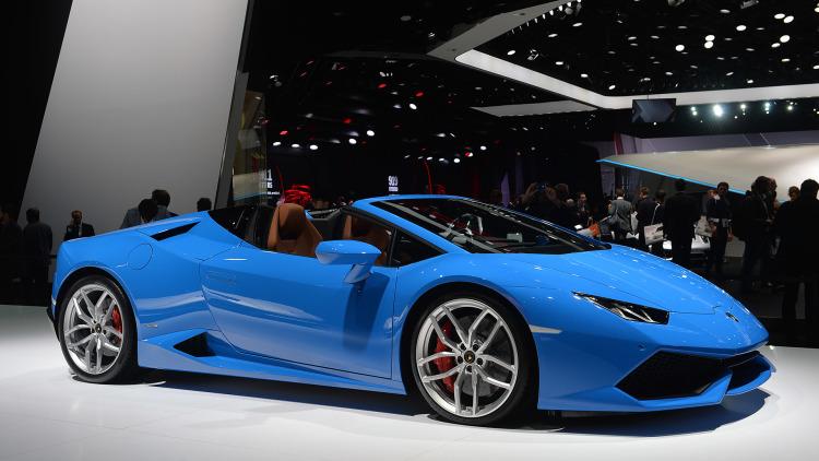 154 Спайдер Lamborghini Huracan «зарядили» до 860 сил