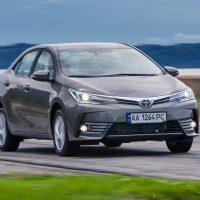311 В стране представлена обновленная Toyota Corolla