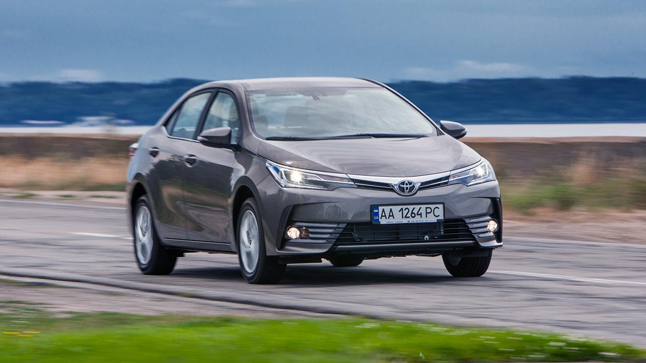 В стране представлена обновленная Toyota Corolla