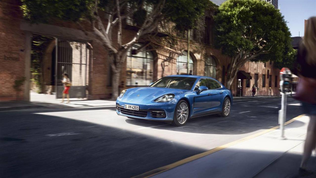 319 Новая Porsche Panamera. Самый быстрый дизельный седан
