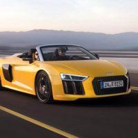 346 Компания Audi презентовала обновленный R8 Spyder V10 2017 года