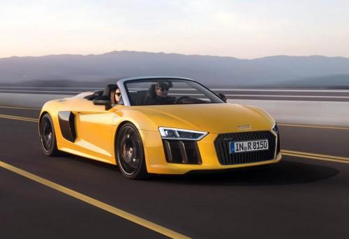 Компания Audi презентовала обновленный R8 Spyder V10 2017 года