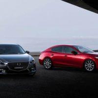 368 Обзор автомобиля Рестайлинг Mazda 3 2017