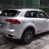 386 Обзор автомобиля  Zotye X7 2016-2017