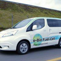 410 Nissan представил инновационный прототип e-Bio Fuel-Cell