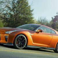 417 Обновленный Nissan GT-R примчал в Нью-Йорк