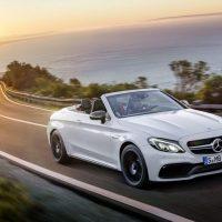 420 Дебютировал роскошный кабриолет Mercedes-AMG C63
