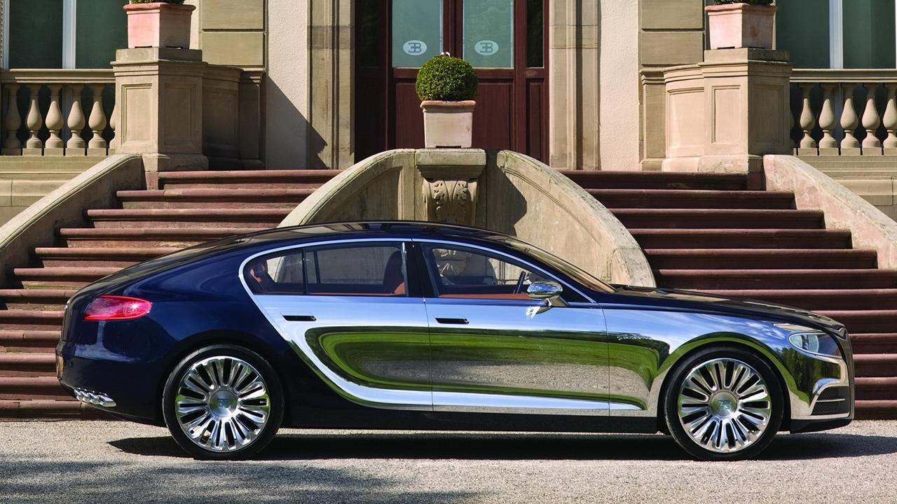 Четырёхдверный автомобиль – предполагаемое будущее Bugatti