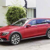 1188 Обзор автомобиля E-class All-Terrain от Mercedes 2017-2018