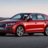 1193 Обзор автомобиля Audi Q5 2017-2018