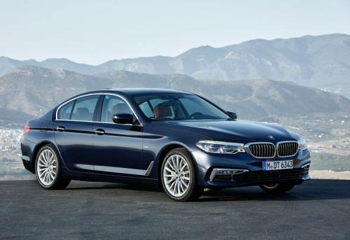 Обзор автомобиля BMW 5-Series 2017