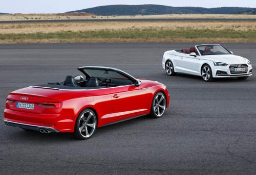 6437 Обзор автомобиля Cabriolet Audi A5 2017