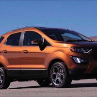 8763 Обзор автомобиля Ford EcoSport 2017-2018