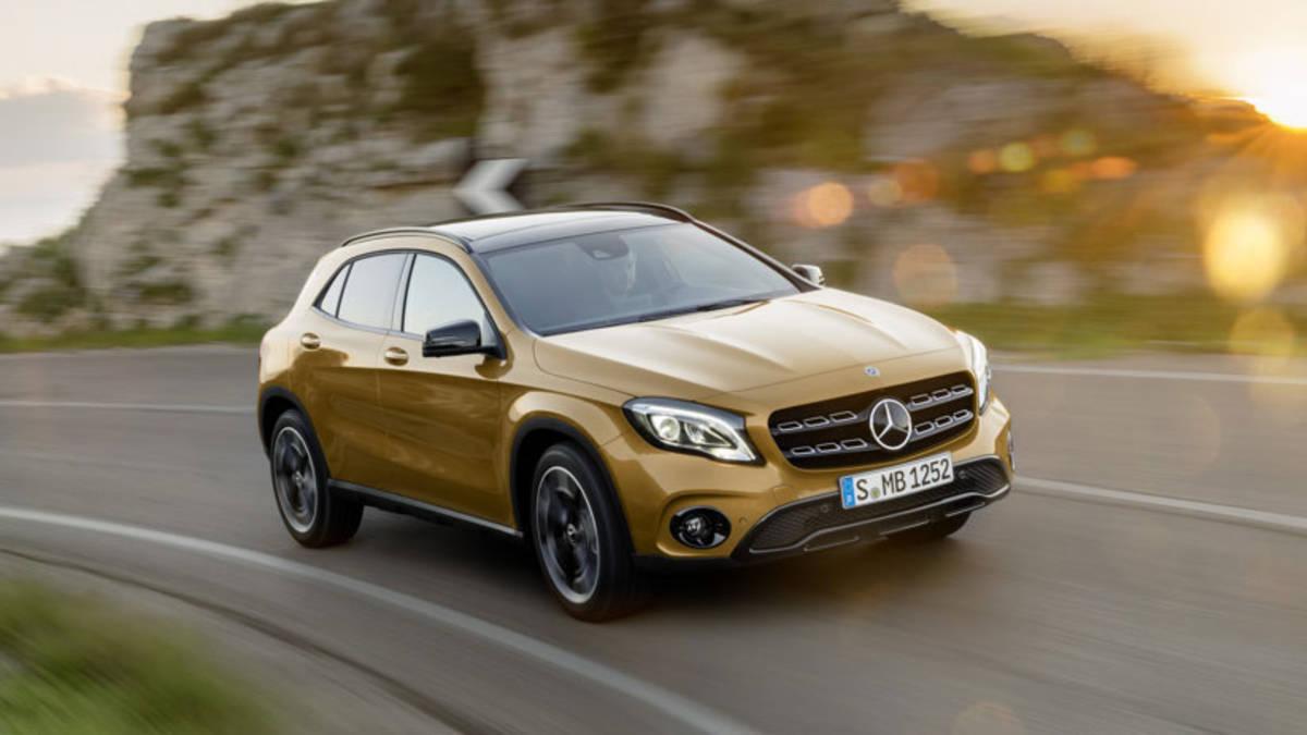 15507 Обзор автомобиля Mercedes-Benz GLA 2018