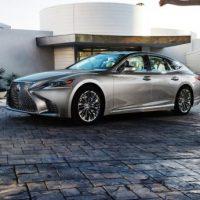 16691 Обзор автомобиля Lexus LS 500 2017-2018