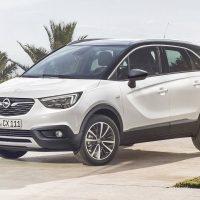 16731 Обзор атомобиля Opel Crossland X 2017-2018