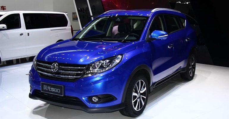 16791 Обзор автомобиля Dongfeng 580 2017