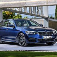 Обзор автомобиля BMW 5-Series Touring 2017-2018