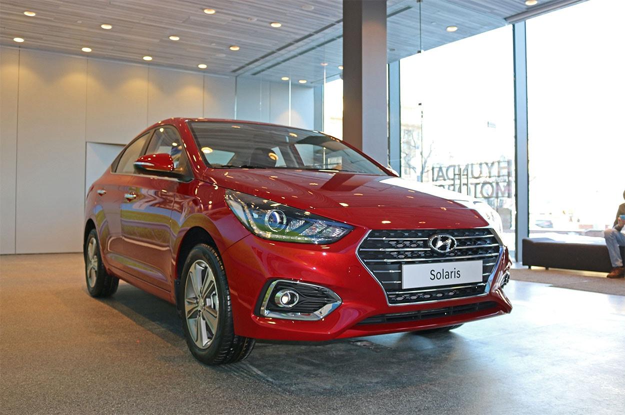 16826 Обзор автомобиля Hyundai Solaris 2017-2018