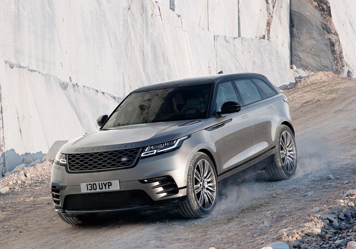 17039 Обзор автомобиля Range Rover Velar 2018