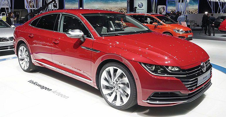 Обзор автомобиля Volkswagen Arteon 2017-2018