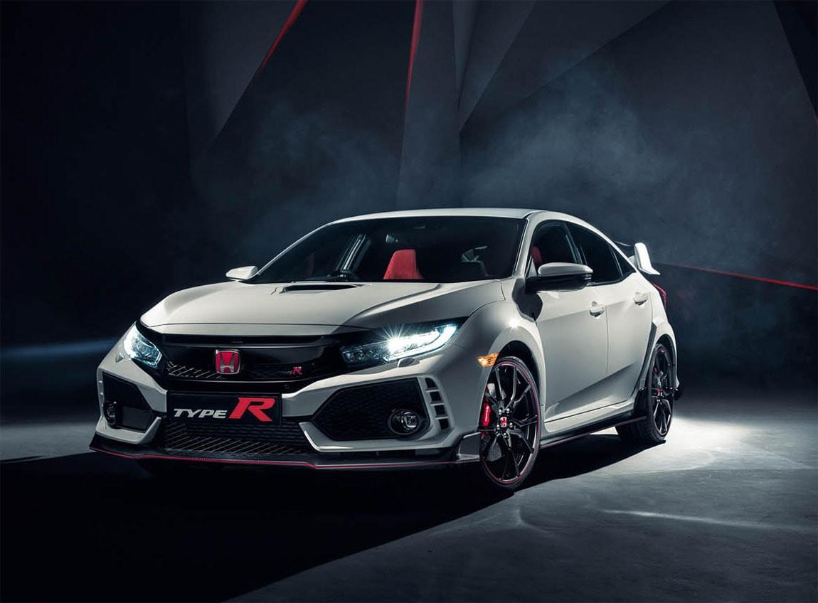 17100 Обзор автомобиля Honda Civic Type R 2018