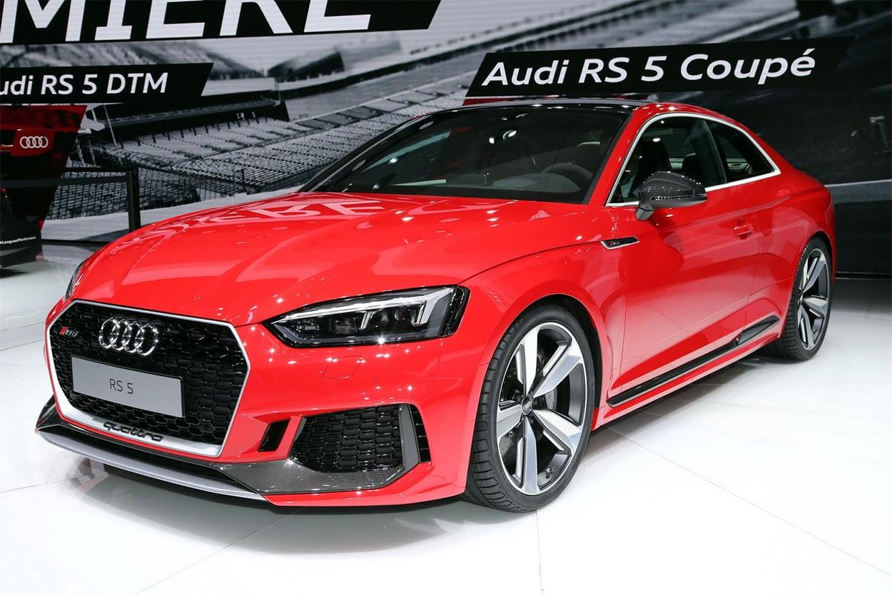 Обзор автомобиля Audi RS5 2017