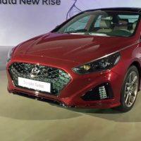 17237 Обзор автомобиля Hyundai Sonata 2017