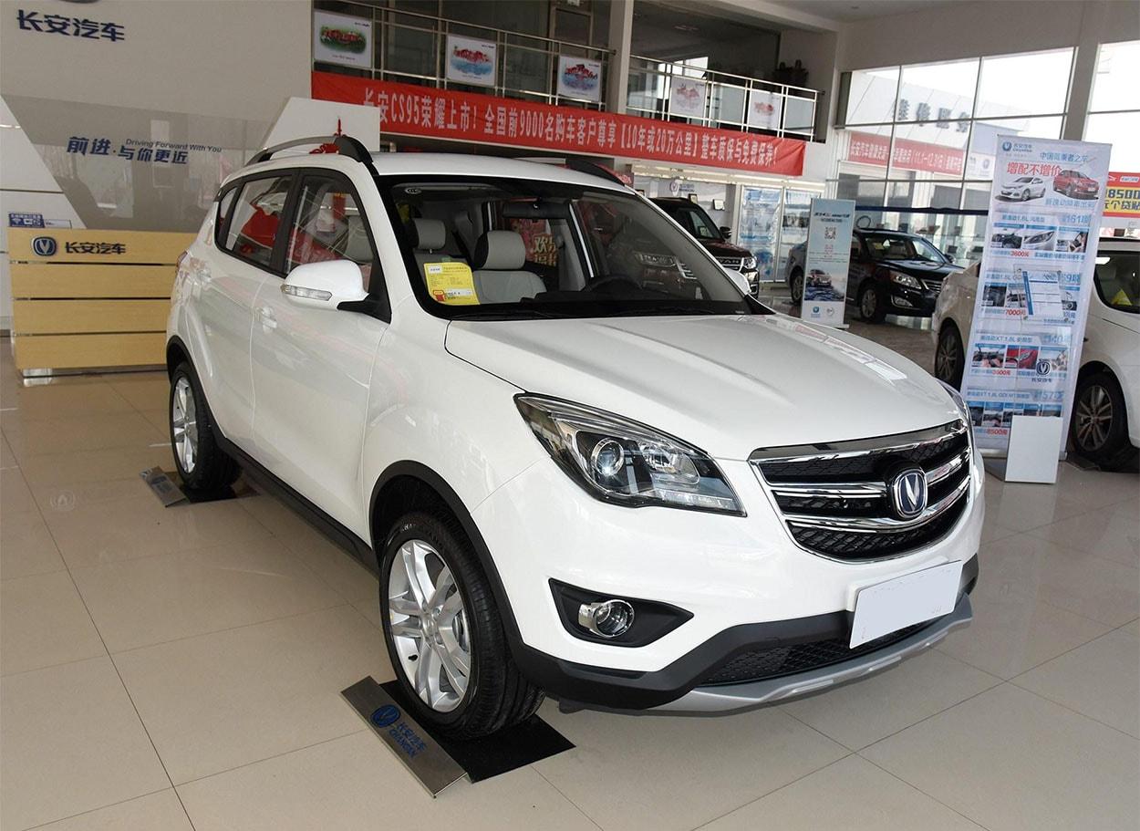 17246 Обзор автомобиля Changan CS35 2017-2018