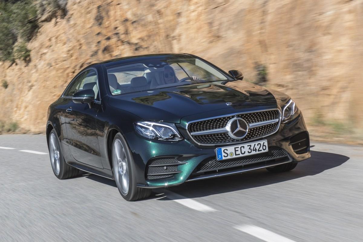 E-Coupe 2017 – необычный Mercedes. Mercedes E-Class Coupe (C238)