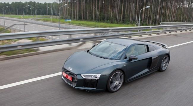 Оцениваем прогресс купе. Audi R8 Coupe