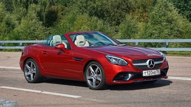17551 Взрослые игрушки. Mercedes SLC-Class (R173)