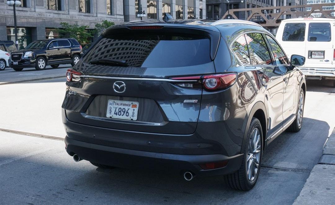 17677 Обзор автомобиля Mazda CX-8 2017