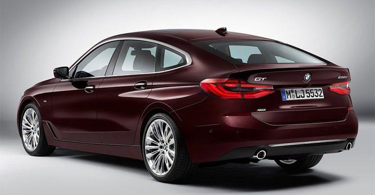 Обзор автомобиля BMW 6-Series Gran Turismo 2017-2018
