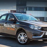 17973 Обзор автомобиля Lada Vesta CNG 2017