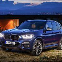 17993 Обзор автомобиля BMW X3 2018