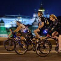 17856 Пробки не страшны: московский велопарад пройдет ночью