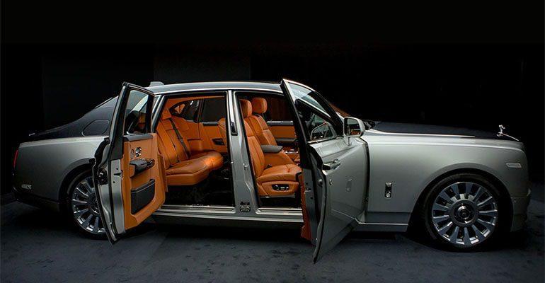 Обзор автомобиля Rolls-Royce Phantom 2019