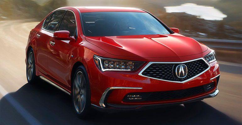 Обзор автомобиля Acura RLX 2018 года