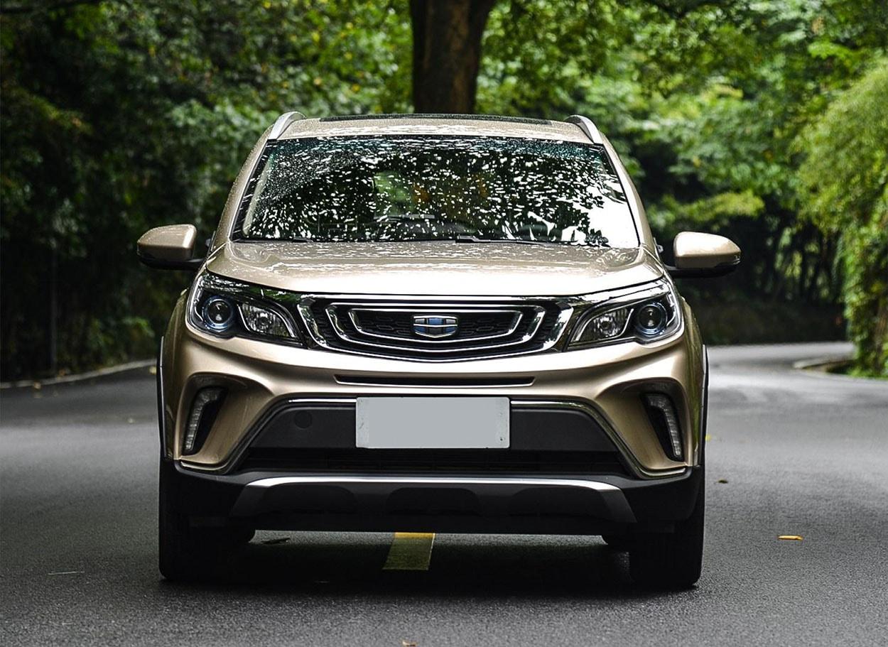18225 Обзор автомобиля Geely Vision X3 2018