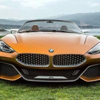 18281 Обзор автомобиля BMW Z4 Concept 2018 года