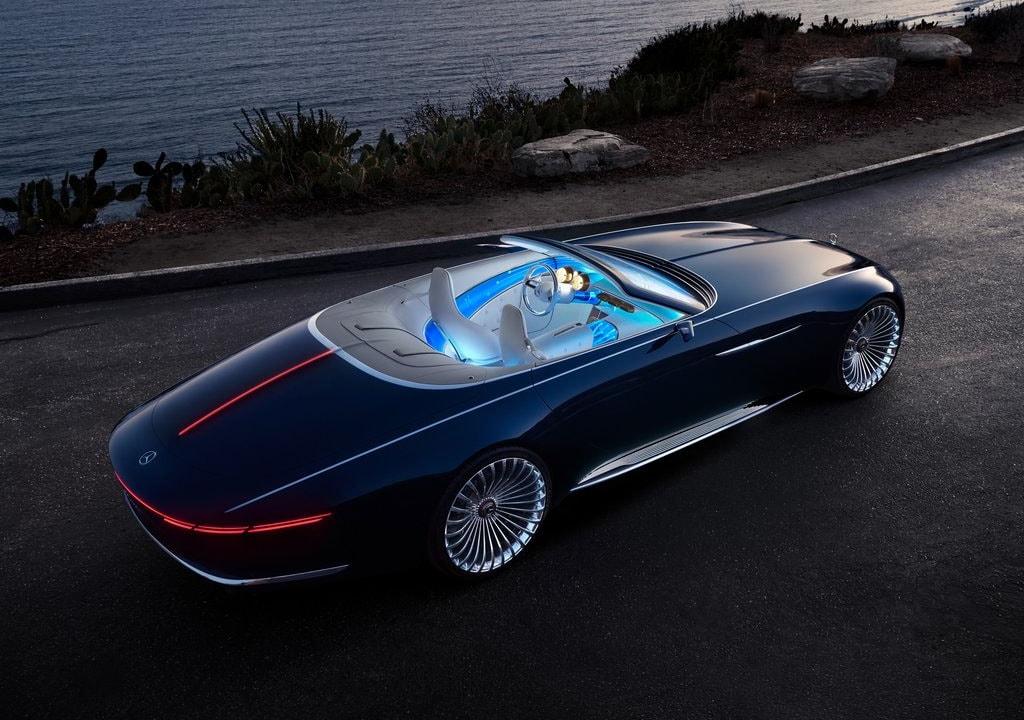 18299 Обзор автомобиля Mercedes Vision Maybach 6 Cabriolet 2018 года