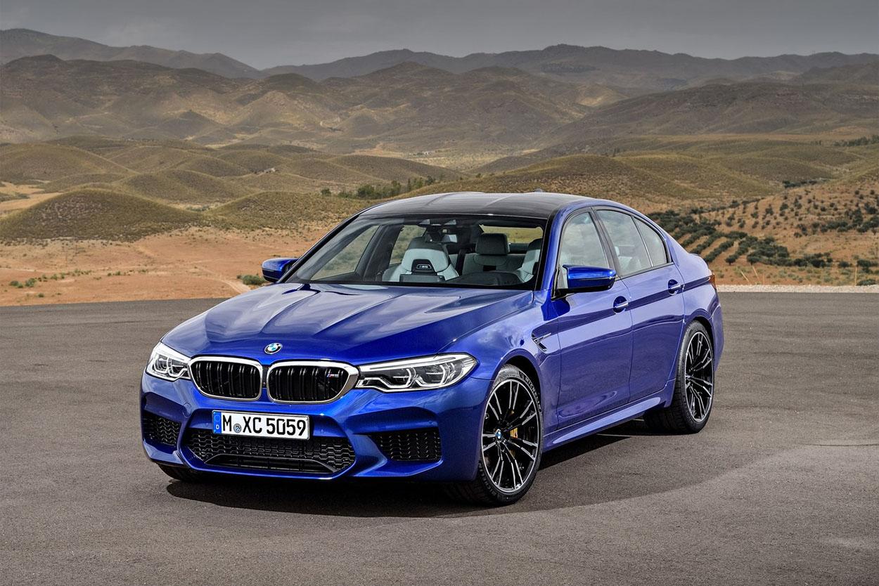 18329 Обзор автомобиля BMW M5 (F90) 2018 года
