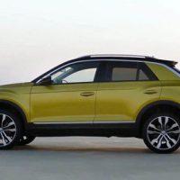 18343 Обзор автомобиля Volkswagen T-Roc 2018