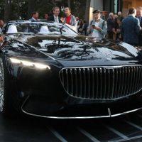 18248 Шик и блеск: Mercedes представил роскошный кабриолет Maybach 6