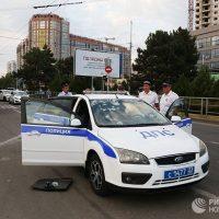18318 В Краснодаре водитель расстрелял инспекторов из травмата и убежал