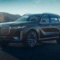 18486 Обзор автомобиля BMW X7 iPerformance concept 2018 года