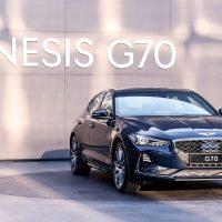 18519 Обзор автомобиля Genesis G70 2018 - 2019