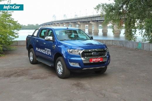 Ford Ranger. Храбрый малый. Ford Ranger Double Cab