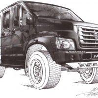 Плагиат или совпадение? Воровал ли ГАЗ дизайн «Вепря» у инженера-самоучки?